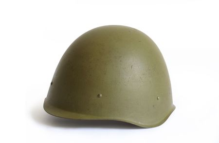 Russian Army helmet World War II era 1939-1945. Stock Photo - 4880602