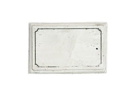 memorial plaque: Blank ancient marble plaque for your text