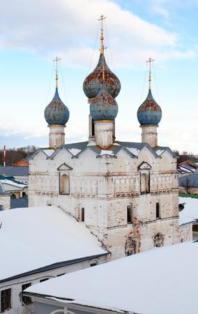 belfry: Old monastery belfry in Rostov city, Russia