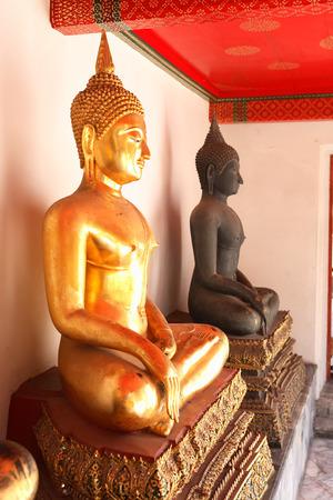 Temple of the Reclining Buddha Wat Pho in Bangkok, Thailand