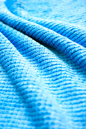 Abstract blue background made from bath mat