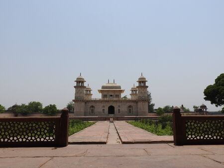Tomb of Itimad-ud-Daul, little Taj Mahal, Agra, India
