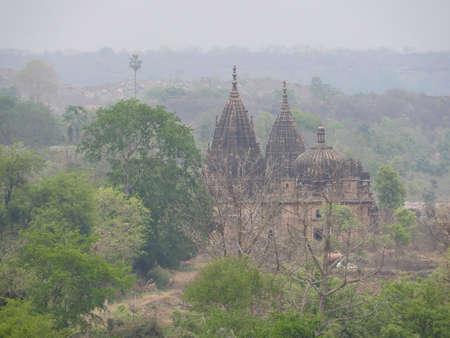 Jehangir, nature around Fort Orchha, Hindu religion, ancient architecture, Orchha, Madhya Pradesh India