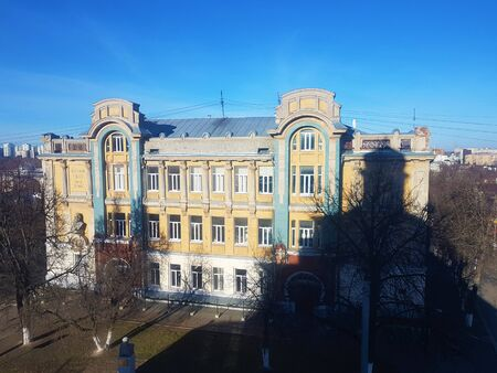 Old houses and architecture in Vladimir, the Golden ring