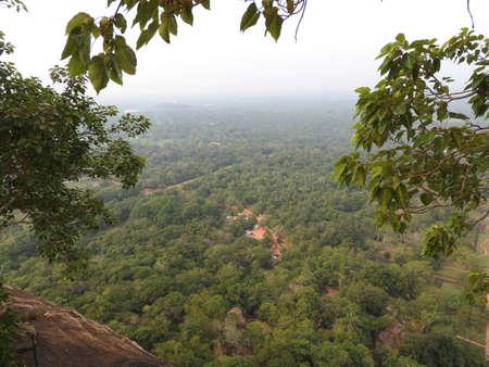 Beautiful vew from Sigiriya Lion Rock, Sri Lanka.