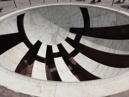 Vrihat Samrat Yantra, the worlds largest sundial at Jantar Mantar in Jaipur.