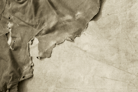 Old torn fabric.Background. Stock Photo