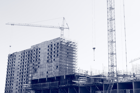 residential construction: Construction of residential buildings.