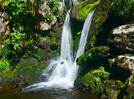 Little waterfall.