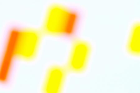 Bright colored spots on a white background.Blurred image Banco de Imagens - 101438987
