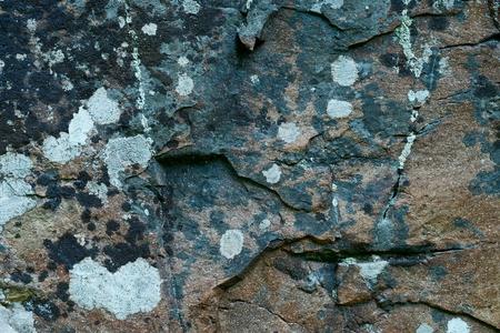 Stone.Fragment of the rock. Standard-Bild