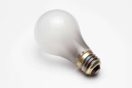 burnout: Burn-out light bulb