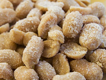 savour: Delicious salted nuts. Better in all savour with beer.
