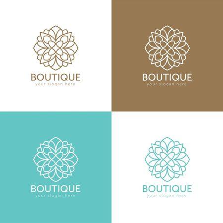 Luxury, Heraldic, Royal, Decoration, Boutique Logo. Interior Icon. Fashion, Jewelry, Beauty Salon, Hotel Logo. Cosmetics, Spa Logo. Resort and Restaurant Logo. Crow Icon. Illustration