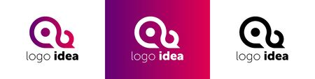 Creative idea logo template. logo idea vector design