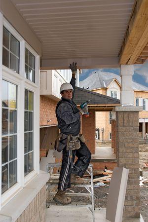 construction people 04 tokarej oshawa Stock Photo