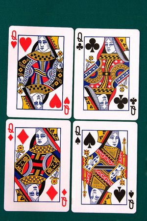 notions: cards all 11 #queen.