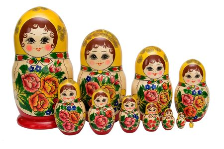 matreshka 01. Stockfoto