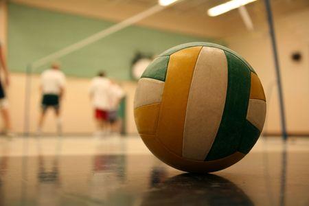 volleyball 002 ball. Stock Photo