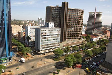 nairobi 001. Stock Photo