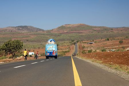 africa landscape 009 road.