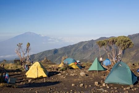 mountain hut: kilimanjaro 009 shira hut camp.