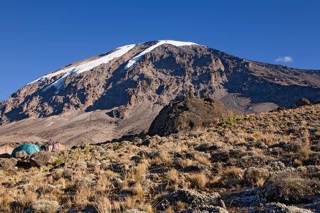 kilimanjaro: kilimanjaro 021 karango camp. morning