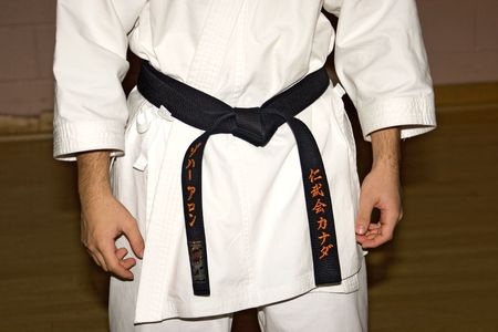 karate 02 black belt.