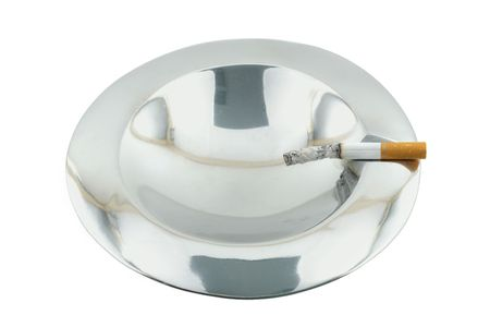 smoke 04 ashtray. Stock Photo - 352856