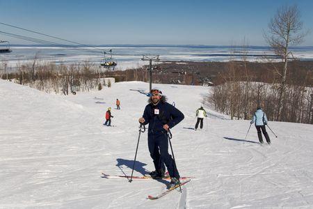 ski 013 me. Stock Photo