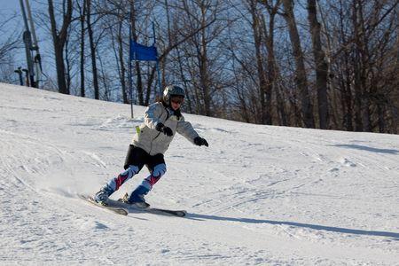 ski 022 downhill.
