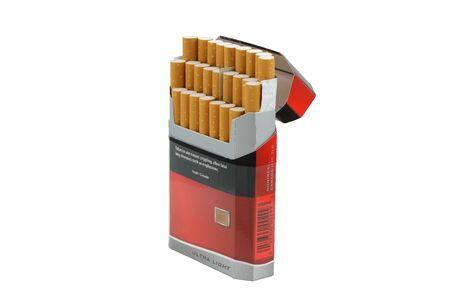 inhaled: smoke 11 cigarette pack.