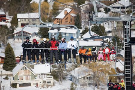 ski 024 lift. Stock Photo - 356205