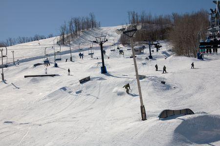 ski 006 view Stock Photo