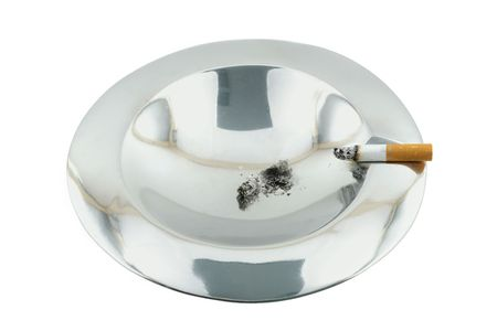 smoke 05 ashtray. Stock Photo - 356227
