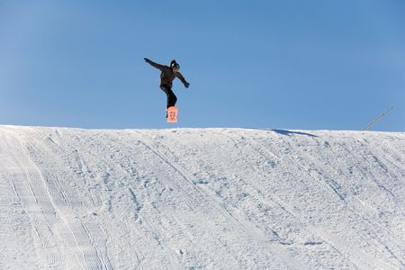 ski 021 snowboad jumping