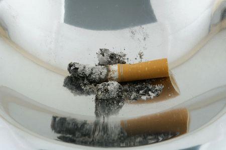 smoke 07 ashtray. Stock Photo - 358508