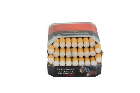 inhaled: smoke 13 cigarette pack.