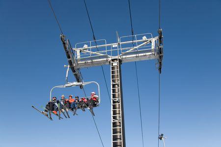 ski 027 lift. Stock Photo - 365429