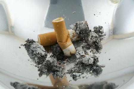 smoke 09 ashtray isolated Stock Photo - 365422