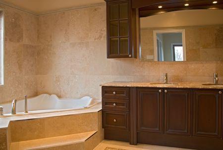 interior bathroom. Banco de Imagens