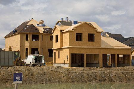 construction roofing Stock fotó