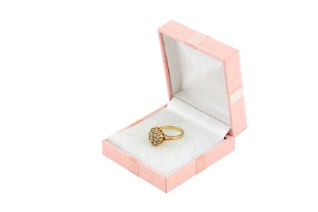 jewelery 011 gold ring in box.