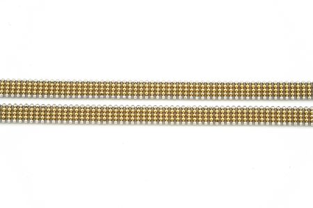 jewelery 020 gold chain isolated.