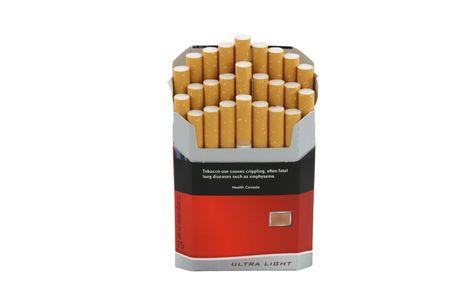 smoke 14 cigarette pack.