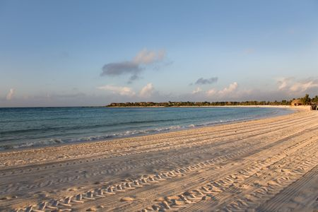 swimm: mexico beach morning sunrise