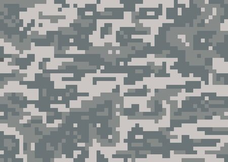 Seamless vector camouflage military texture background soldier Ilustracje wektorowe