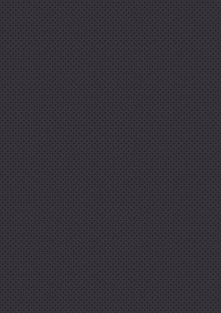 Seamless perforated gray texture. Black background Vektorgrafik