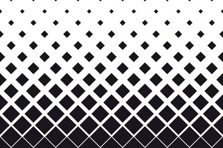 Abstract black endless square texture background