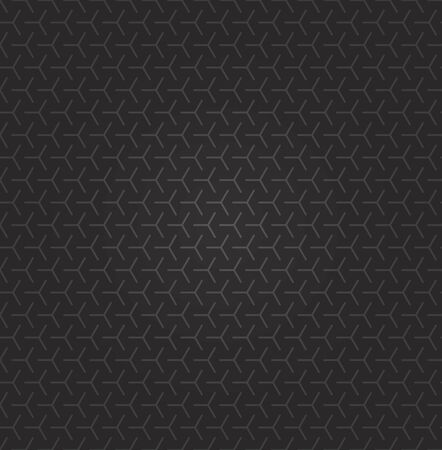 Vector seamless Indian exotic texture line